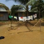 The Water Project: Transmitter, #14 Port Loko Road -  Clothes Hang To Dry