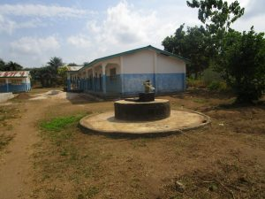 The Water Project:  Broken Well To Be Repaired And School Buildings