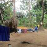 The Water Project: UBA Senior Secondary School -  Clothes Drying On The Line