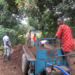 The Water Project: UBA Senior Secondary School -  Preparing Soil For Farming