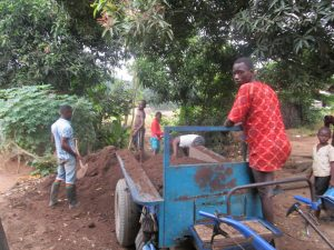 The Water Project:  Preparing Soil For Farming