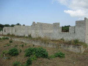 The Water Project:  Unfinished School Building