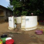 The Water Project: UBA Senior Secondary School -  Working Well In Neighboring Community