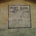 The Water Project: DEC Makassa Primary School -  Sign