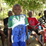 The Water Project: Lungi, Tonkoya Village -  Amidu Conteh