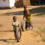The Water Project: Lungi, Tonkoya Village -  Children Playing