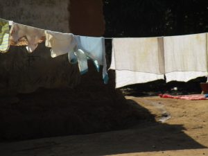 The Water Project:  Clothes Drying On The Line