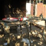 The Water Project: Lungi, Tonkoya Village -  Dish Drying Rack