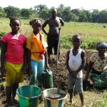 The Water Project: Lungi, Tonkoya Village -  Family