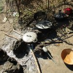 The Water Project: Lungi, Tonkoya Village -  Outdoor Kitchen