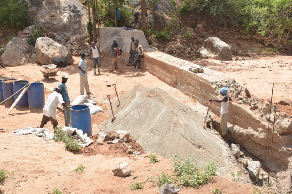 The Water Project : kenya18179-near-completion