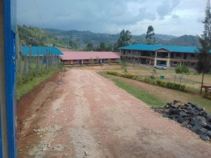 The Water Project:  Road Leading Into School