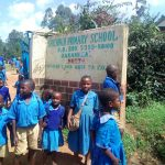 The Water Project: Shichinji Primary School -  Students At School Gate