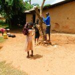 The Water Project: Kapsambo Community, Muhingi Spring -  Community Children