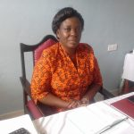 The Water Project: Dr. Gimose Secondary School -  Principal Sarah Esitika