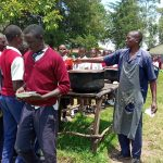 The Water Project: Ematiha Secondary School -  Lunch Break