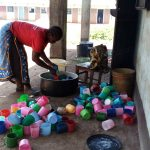The Water Project: St. Joseph's Lusumu Primary School -  Plastic Drinking Cups
