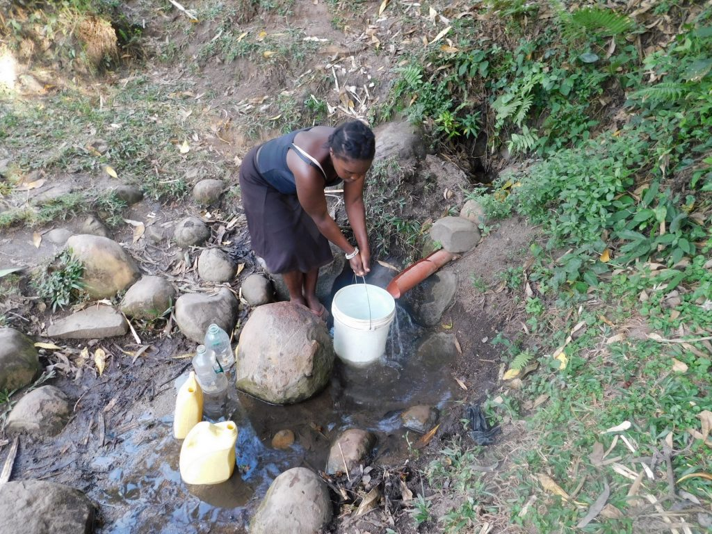 The Water Project : 10-kenya19120-fetching-water