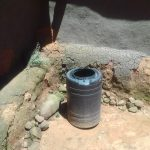 The Water Project: Mwichina Community, Shihunwa Spring -  Water Barrel