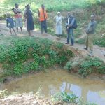 The Water Project: Shamiloli Community, Kwasasala Spring -  Current Water Source