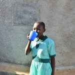 The Water Project: Eshikufu Primary School -  Flowing Water