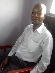 The Water Project:  Deputy Headteacher Philip Kome