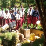 The Water Project: St. Theresa's Bumini High School -  Fetching Water From The Community