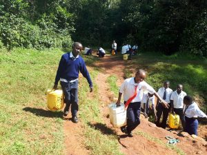 The Water Project:  Carrying Heavy Water