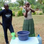 The Water Project: Bukhakunga Community, Khayati Spring -  Handwashing Training