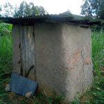 The Water Project: Bungonye Community, Shilangu Spring -  Latrine Sample