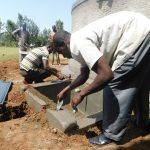 The Water Project: Mabanga Primary School -  Fitting The Cover