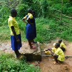 The Water Project: Kosiage Primary School -  Fetching Water