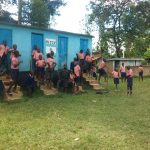 The Water Project: Mukoyani Primary School -  Latrines