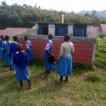 The Water Project: Banja Primary School -  Latrines