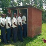 The Water Project: Ematiha Secondary School -  Latrines