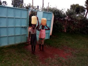 The Water Project:  Arriving Back At School With Water