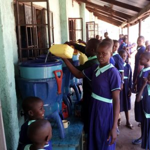 The Water Project:  Filling The Plastic Filters