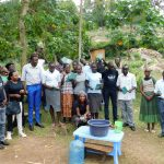 The Water Project: Bukhakunga Community, Khayati Spring -  Picture After Training