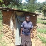 The Water Project: Mwichina Community, Shihunwa Spring -  Sample Latrine
