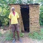 The Water Project: Chegulo Community, Sembeya Spring -  Latrine