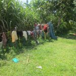The Water Project: Bung'onye Community, Shilangu Spring -  Clothes Drying On A Fence