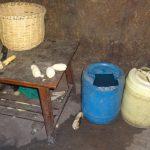 The Water Project: Bungaya Community, Charles Khainga Spring -  Water Storage