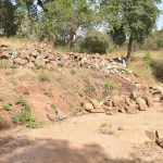The Water Project: Munyuni Community -  Stones Gathered For Construction