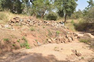 The Water Project:  Stones Gathered For Construction