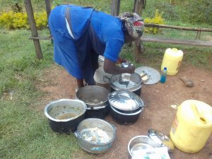 The Water Project:  School Cook Using Water