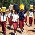 The Water Project: St. Theresa's Bumini High School -  Arriving Back At School