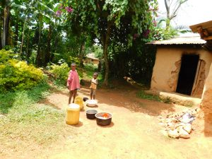 The Water Project:  Where Dishes Are Washed