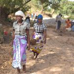 The Water Project: Munyuni Community -  Transporting Materials To The Site