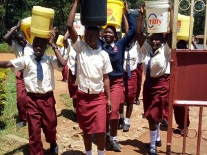 The Water Project:  Arriving Back At School