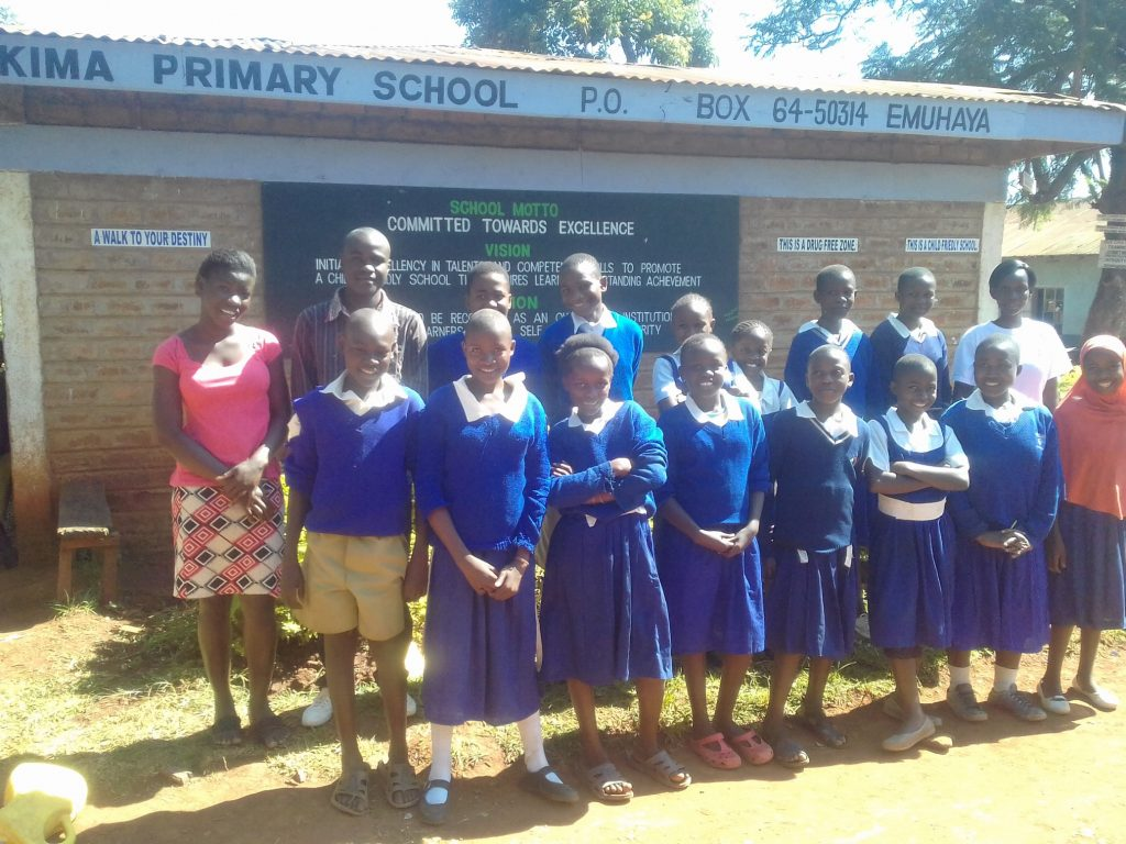 The Water Project : 14-kenya19052-students-posing-with-teachers